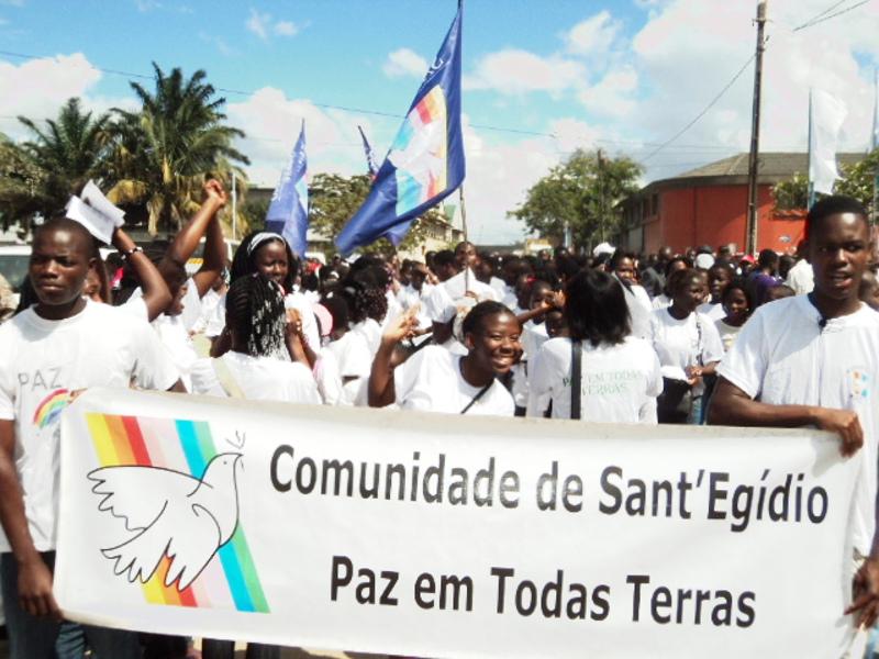 Santegidio In Mozambique Marches And Events To Commemorate The