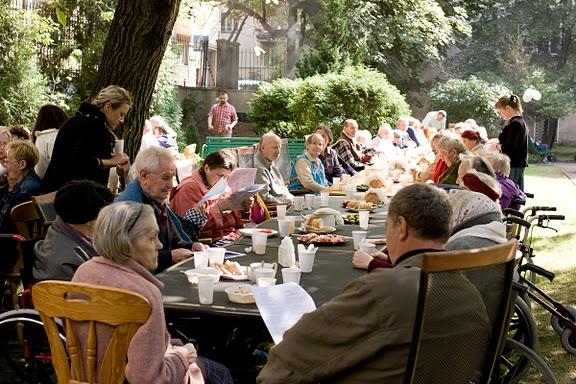 alte Leute Gemeinschaft