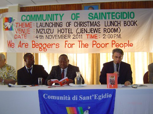 presentazione libro Christmas lunch in malawi
